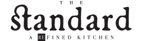 RE_THE_STANDARD Logo_BW